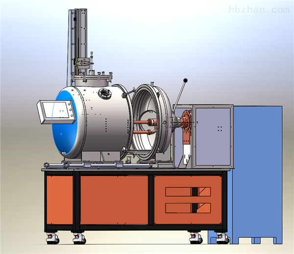 贵金属提纯用真空感应提纯蒸馏炉