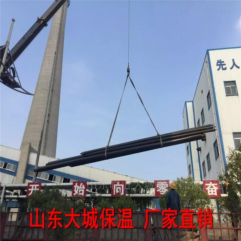 青岛蒸汽保温管  山东钢套钢防腐管道建材