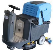 驾驶式工车间用洗扫地机,电动坐着开拖地机