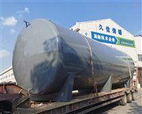 63吨工业硫酸碳钢储罐 化工防腐罐