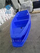 成都4米双层加厚牛筋pe塑料船渔船厂家