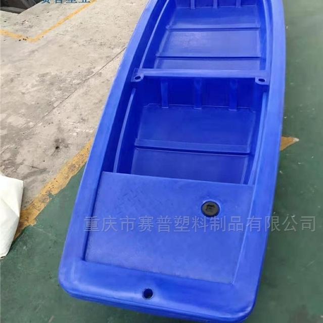 钓鱼船pe牛筋船外机冲锋舟抗洪救灾塑料渔船