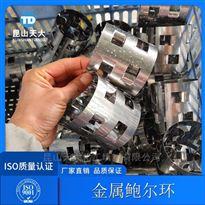 甲醇废气吸收塔填料304不锈钢鲍尔环填料