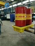 1370防渗漏危化学品防泄漏 两桶装防渗漏托盘