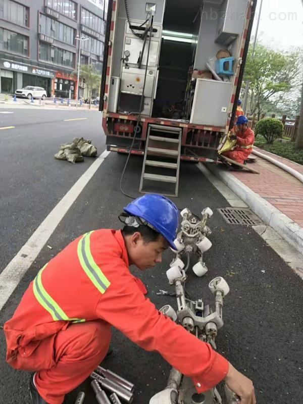 管道非开挖清淤检测CIPP光固化修复