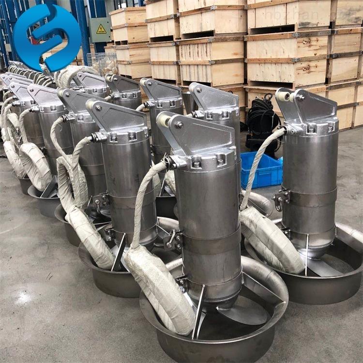 QJB0.85KW高效沉淀池潜水搅拌机
