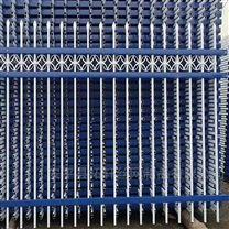 厂区小区围墙护栏 锌钢护栏方管防护栏杆