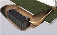 雨水收集再利用重要部分pp模块蓄水池