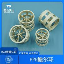 酸雾净化塔填料PPH材质鲍尔环填料