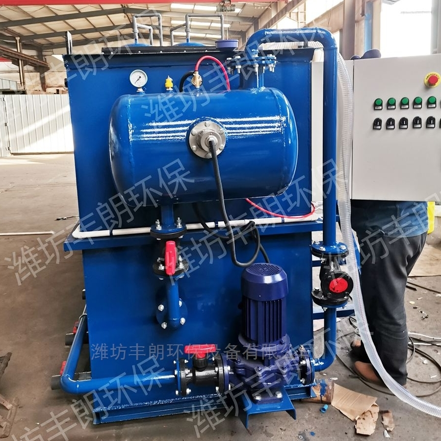 全自动预处理溶气气浮机设备厂家