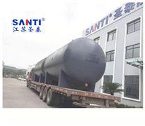 优质盐酸储罐,工业酸储槽卧式安全防腐