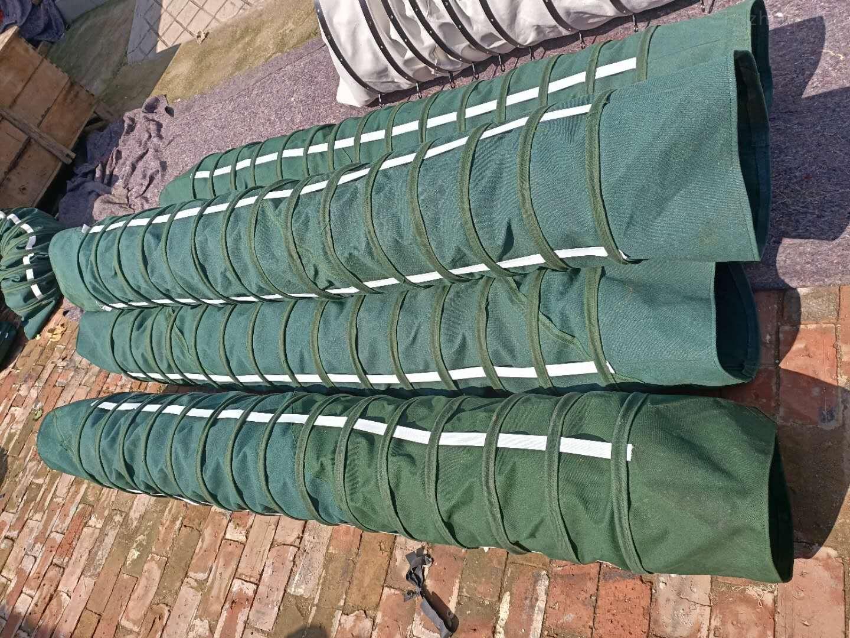 水泥输送耐磨帆布除尘布袋