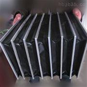 防阻燃材质机床直线导轨风琴防护罩