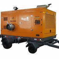 防汛排水抽水泵车