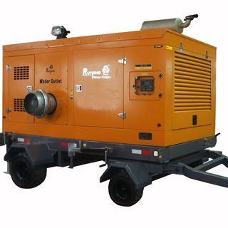 移动式抽水泵车