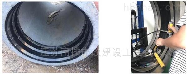 管道非开挖修复 局部内衬 翻转光固化缠绕法
