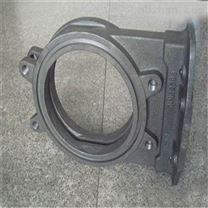 ZG90CrMn13MoSiVRe耐磨管/板/法兰连接输煤弯管生产销售