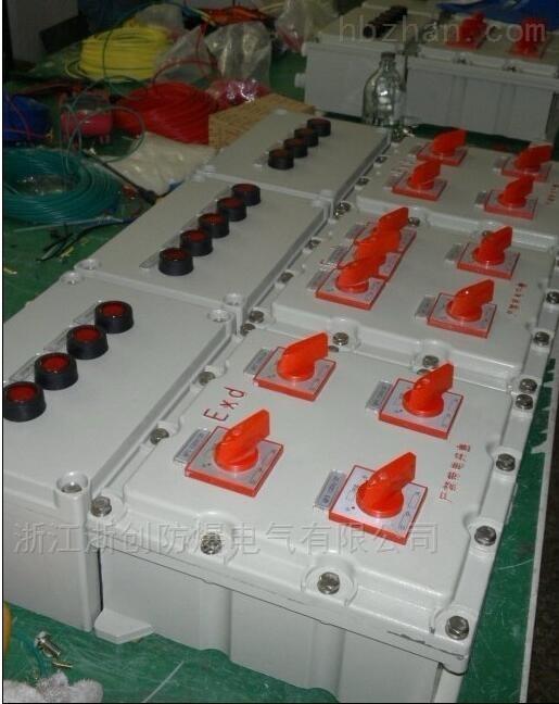 BZC51-A2B1L循环水泵防爆按钮控制箱