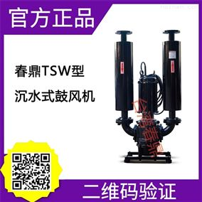 春鼎TSW-125110沉水式罗茨鼓风机