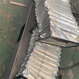 定做矩形保溫硅膠布耐磨防塵軟連接