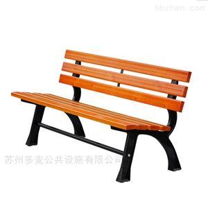多麦学校防腐公园椅生产