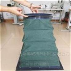 耐磨损通风除尘帆布伸缩软连接生产