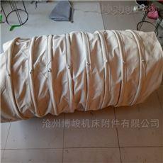 散装机耐腐蚀帆布颗粒输送布袋规格