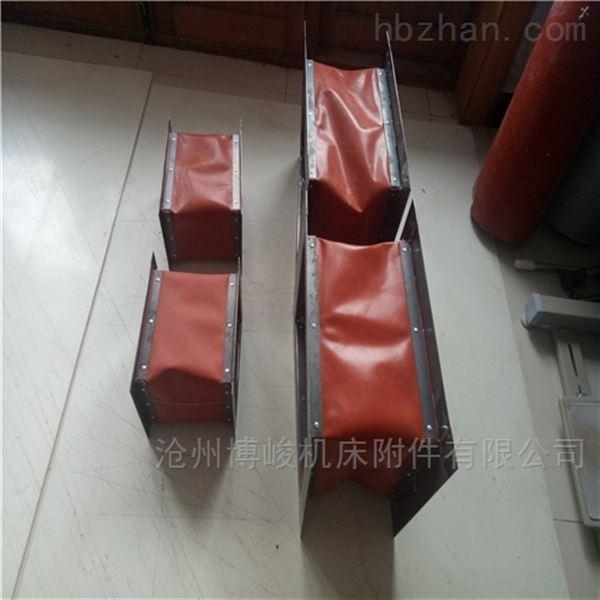 消防空调排风帆布伸缩软连接规格