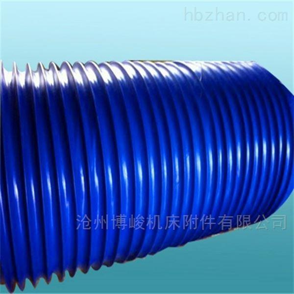 公司主要生产硅胶布通风管