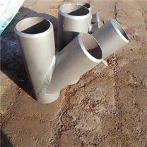 耐酸材质45度斜三通型号规格