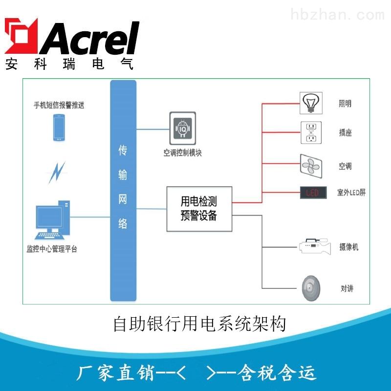 银行系统智慧安全用电管理系统