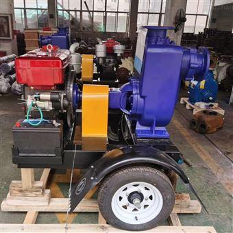 ZWC移动式推车柴油机自吸泵