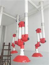 化工厂反应釜加料口排烟用PP万向集气罩