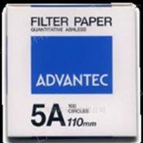 ADVANTEC 5A定量滤纸110mm