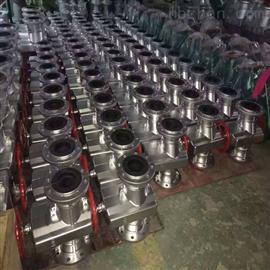 上海GJ41X铝合金管夹阀