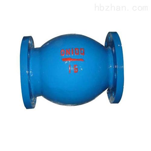 微阻球形止回阀