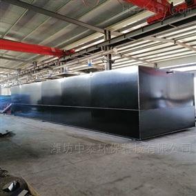 江西鹰潭市地埋式一体化污水处理设备高配置