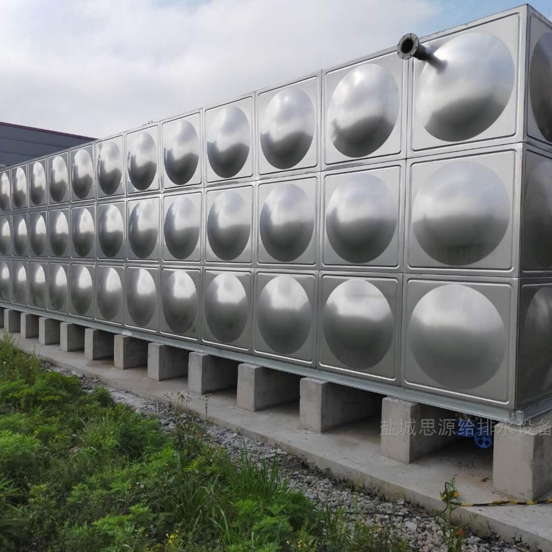 南京食品厂屋顶不锈钢水箱保温