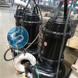 不锈钢筒无阻塞潜水排污泵 清水灌溉泵