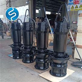 灌溉抽水机移动式污水提升泵 潜水排污泵