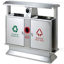 扬州小区垃圾桶-不锈钢分类垃圾箱