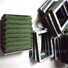 帆布矩形通风伸缩软连接厂家生产