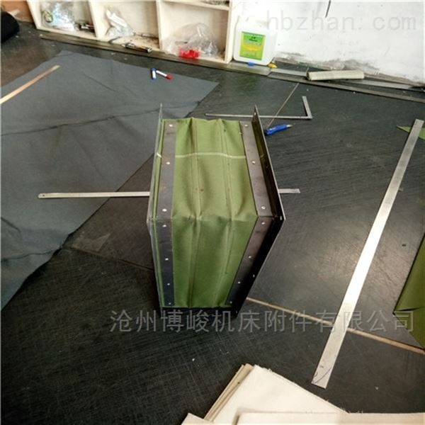 帆布耐磨除尘伸缩软连接产品报价