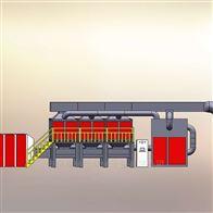 1-20万风量活性碳吸附催化燃烧设备直销