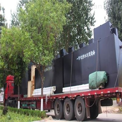 RCYTH新建屠宰一体化废水处理装置