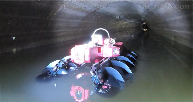 全地形管道机器人技术