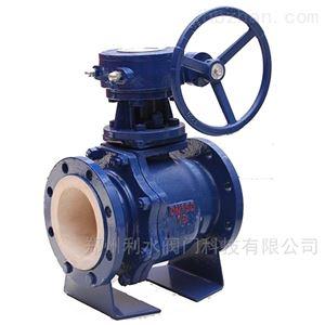 Q341TC涡轮陶瓷球阀