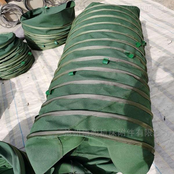 东营散装罐车输送水泥帆布伸缩布袋厂家