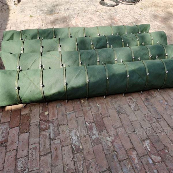 橡胶防静电除尘伸缩布袋厂家
