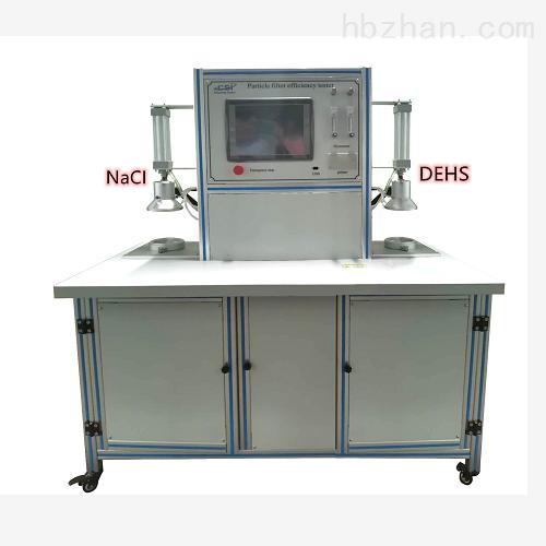 熔喷滤料颗粒过滤性能测试仪使用